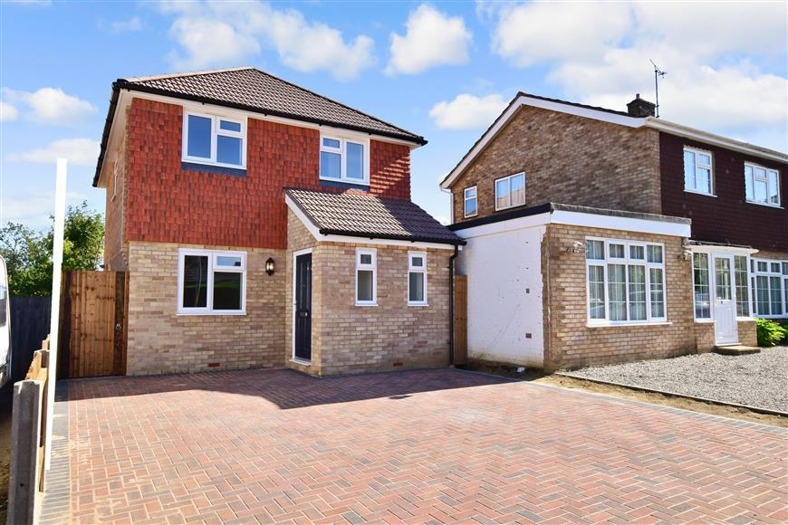 3 Bedrooms Detached House for sale in Ufton Close, Maidstone, Kent