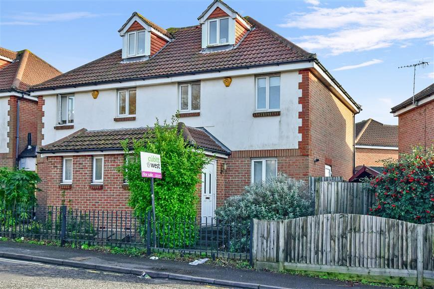 3 Bedrooms End Of Terrace House for sale in Mile Oak Road, Southwick, West Sussex