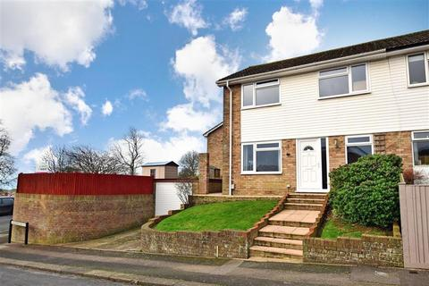 3 bedroom end of terrace house for sale - Catherine Vale, Woodingdean, Brighton, East Sussex