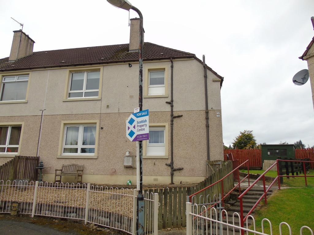 2 Bedrooms Flat for sale in Drumpellier Crescent, Langloan, Coatbridge