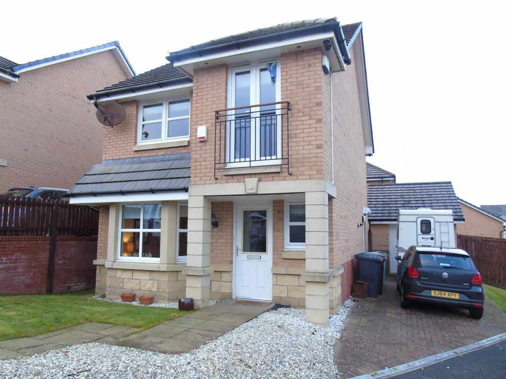 3 Bedrooms Detached House for sale in Wheatear Grove, Carnbroe, Coatbridge, North Lanarkshire