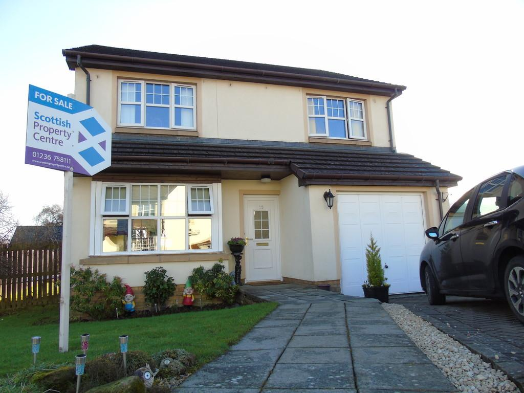 4 Bedrooms Detached House for sale in Rockbank Crescent, Glenboig, Coatbridge
