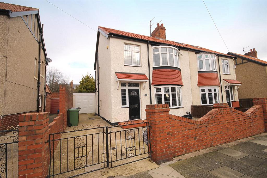 3 Bedrooms Semi Detached House for sale in Wilton Avenue, Hartlepool