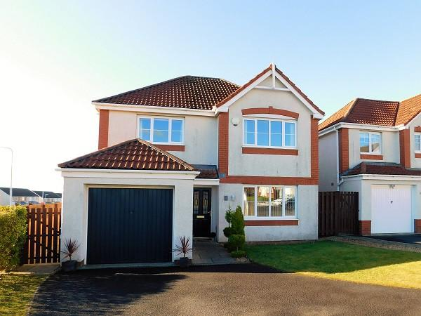 4 Bedrooms Detached House for sale in Eardley Crescent, Dunfermline, KY11