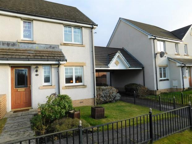 3 Bedrooms End Of Terrace House for sale in Dornoch Place, Dunfermline, KY11