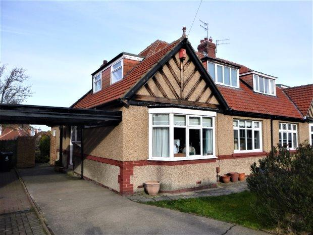 4 Bedrooms Semi Detached Bungalow for sale in MEADOW GARDENS, TUNSTALL, SUNDERLAND SOUTH
