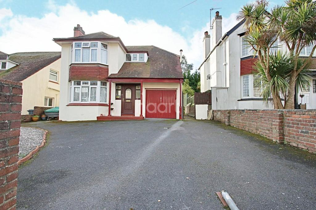 3 Bedrooms Detached House for sale in Barcombe Road, Paignton