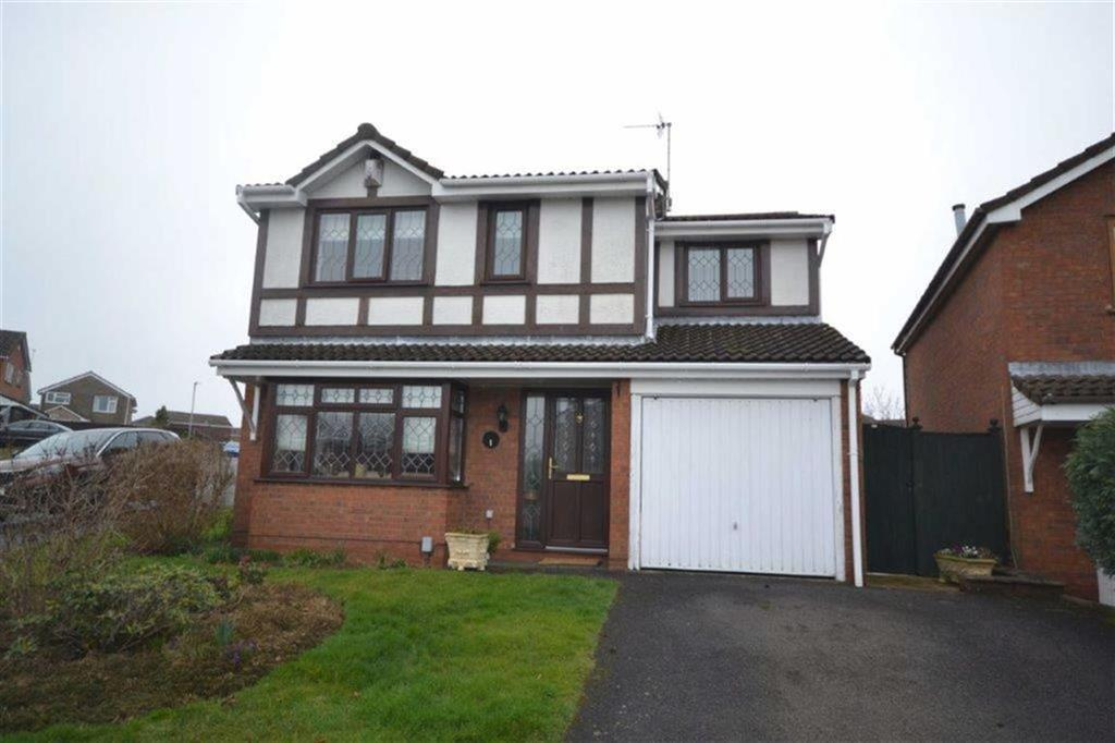 4 Bedrooms Detached House for sale in Suffolk Close, Stockingford, Nuneaton