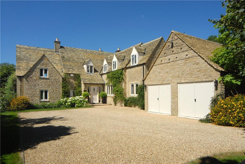 4 Bedrooms Detached House for sale in Maugersbury, Cheltenham, Gloucestershire, GL54