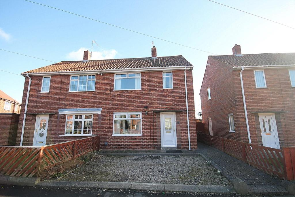 2 Bedrooms Semi Detached House for sale in Ripon Drive, Willington, Crook