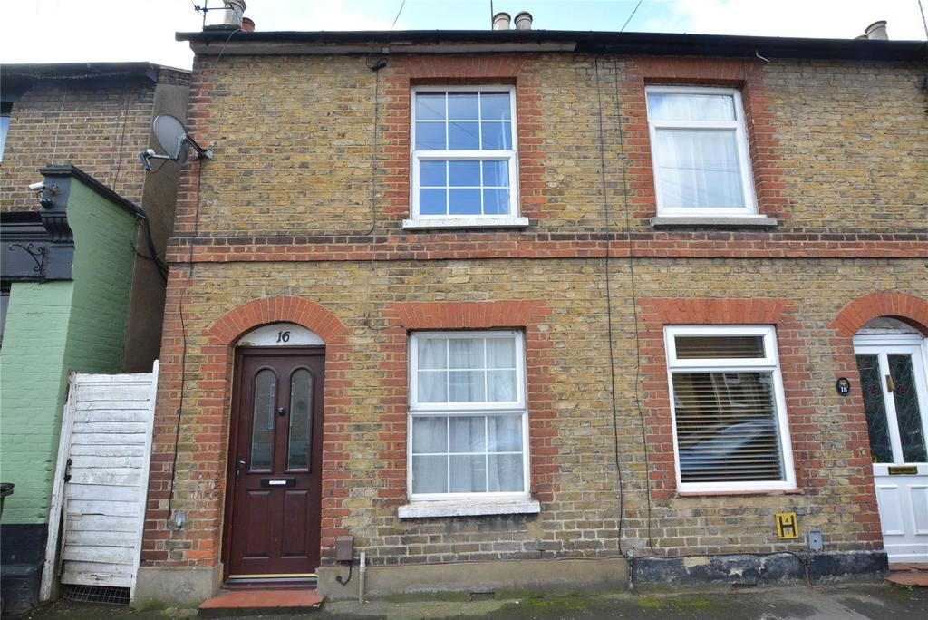 2 Bedrooms End Of Terrace House for sale in Fearnley Street, Watford, Hertfordshire, WD18
