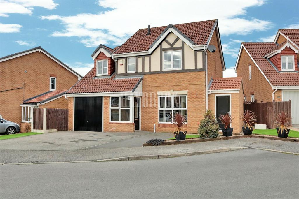 4 Bedrooms Detached House for sale in Fox Farm Court, Brampton Bierlow