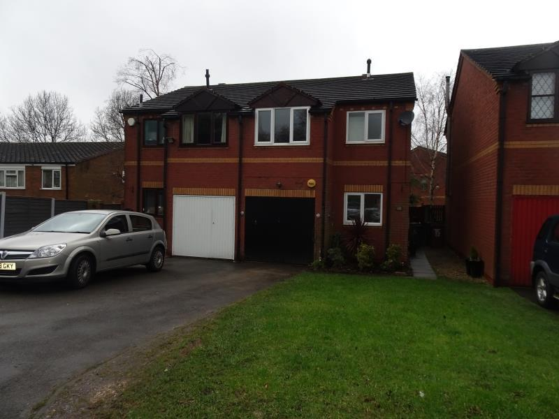 3 Bedrooms Semi Detached House for rent in Brooklands Grove, Walsall Wood, Walsall, WS9 9LU