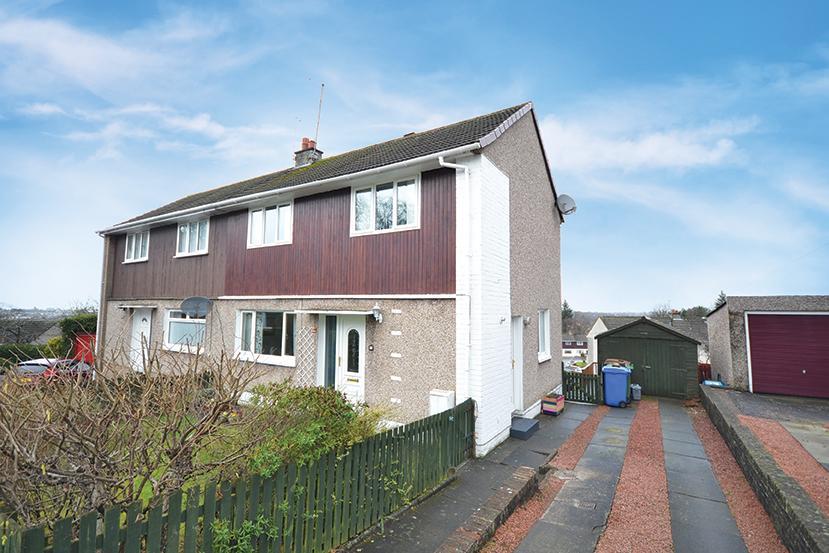 4 Bedrooms Semi-detached Villa House for sale in 70 Crofthead Road, Ayr, KA7 3NE