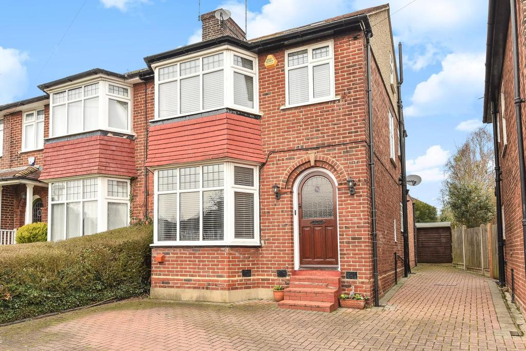 4 Bedrooms Semi Detached House for sale in Fountains Crescent, Southgate