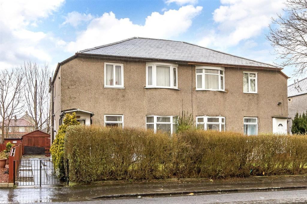 3 Bedrooms Flat for sale in 177 Menock Road, Kings Park, Glasgow, G44