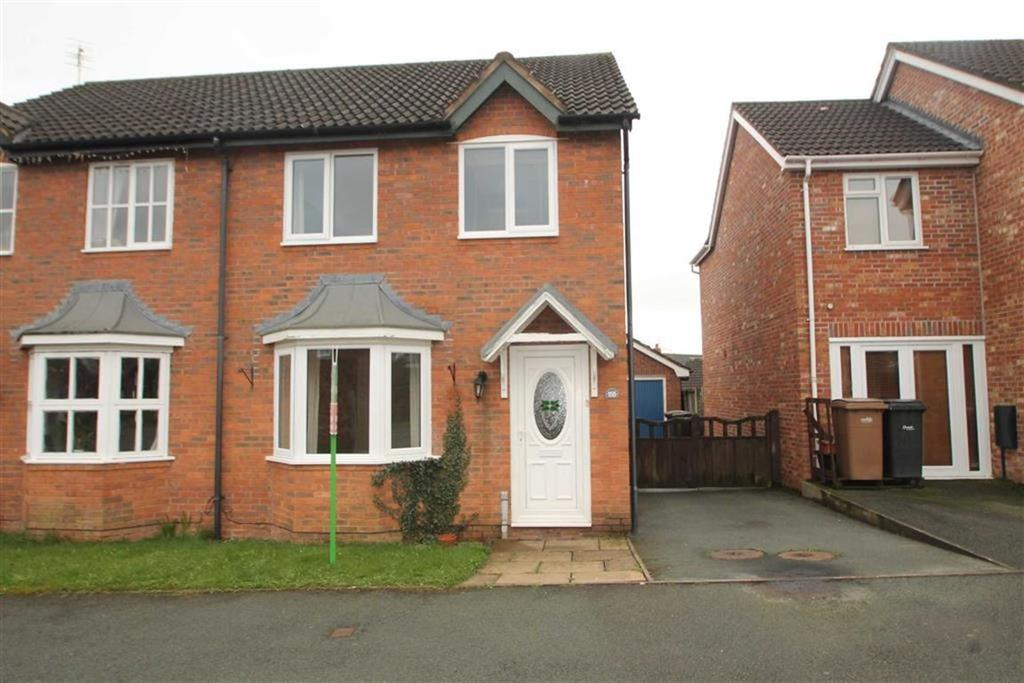 3 Bedrooms Semi Detached House for sale in Cabin Lane, Oswestry