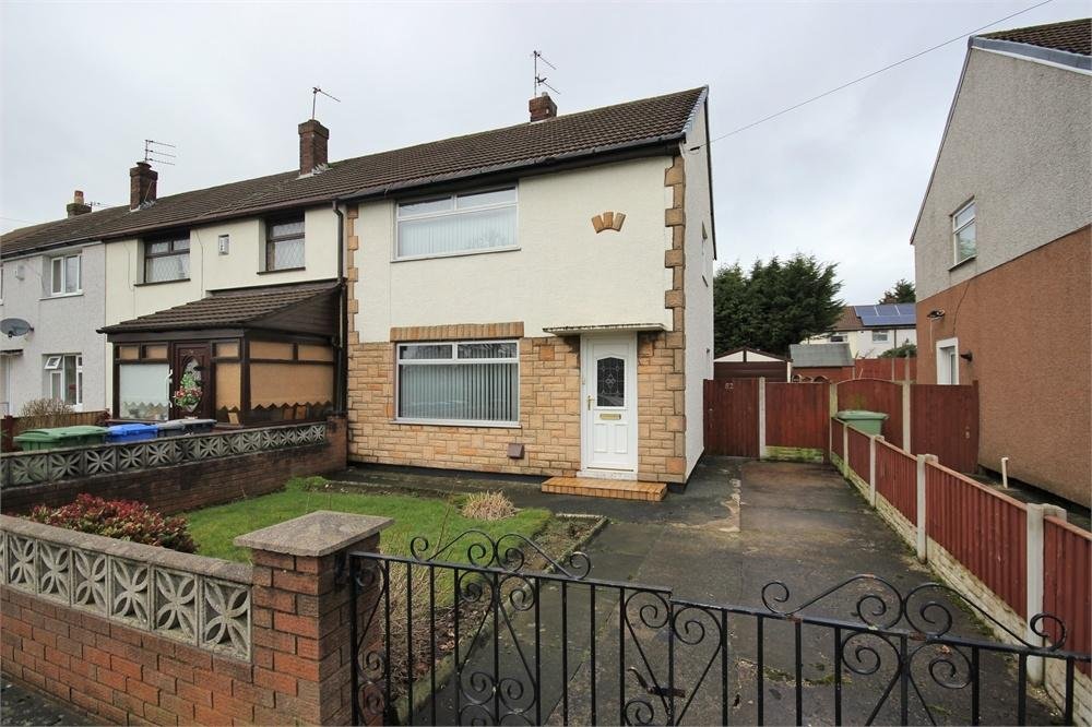 2 Bedrooms End Of Terrace House for sale in Ditchfield Place, WIDNES, Cheshire