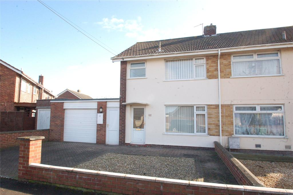 3 Bedrooms Semi Detached House for sale in Sedgemoor Road, Bridgwater, Somerset, TA6
