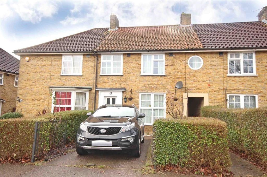 3 Bedrooms Terraced House for sale in Mill Green Road, Welwyn Garden City, Hertfordshire