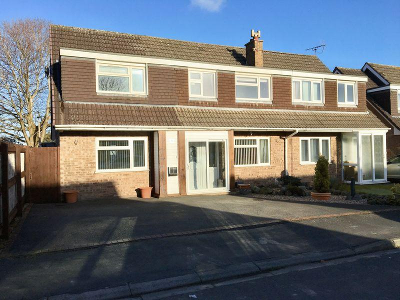 4 Bedrooms Semi Detached House for sale in Askrigg Avenue, Little Sutton
