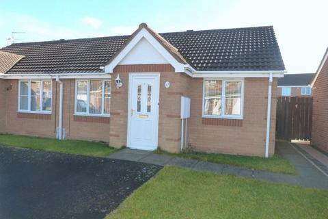 2 bedroom bungalow for sale - Lavender Court, Ashington, Two Bedroom Semi-Detached Bungalow