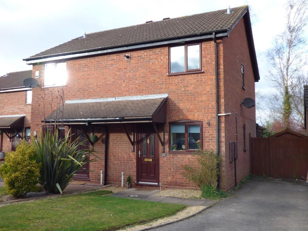 2 Bedrooms Semi Detached House for sale in Haymoor, Lichfield