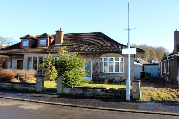 3 Bedrooms Semi Detached House for sale in Lundin Road, Crossford, Dunfermline, KY12