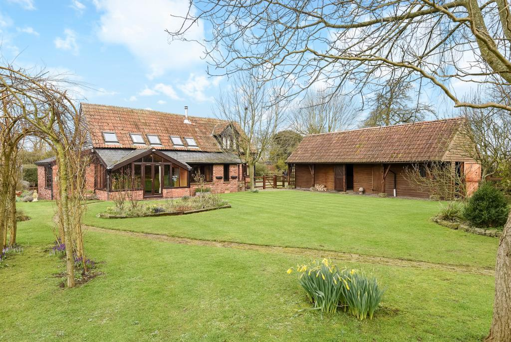 4 Bedrooms Detached House for sale in Weobley Marsh, Herefordshire, HR4