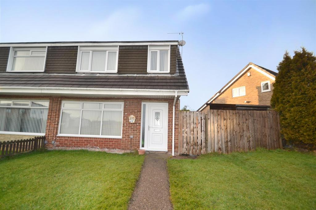 3 Bedrooms Semi Detached House for sale in Honiton Way, North Shields