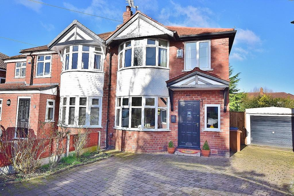 3 Bedrooms Semi Detached House for sale in Ashbourne Avenue, Cheadle