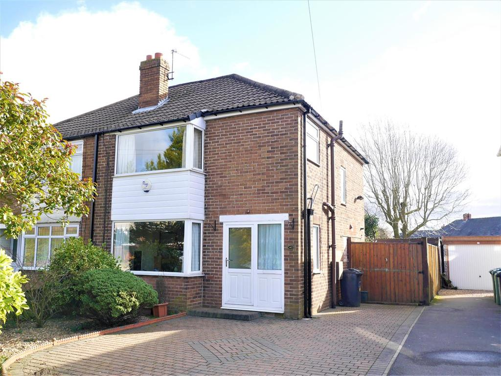 3 Bedrooms Semi Detached House for sale in Ghyllroyd Drive, Birkenshaw, BD11 2ET