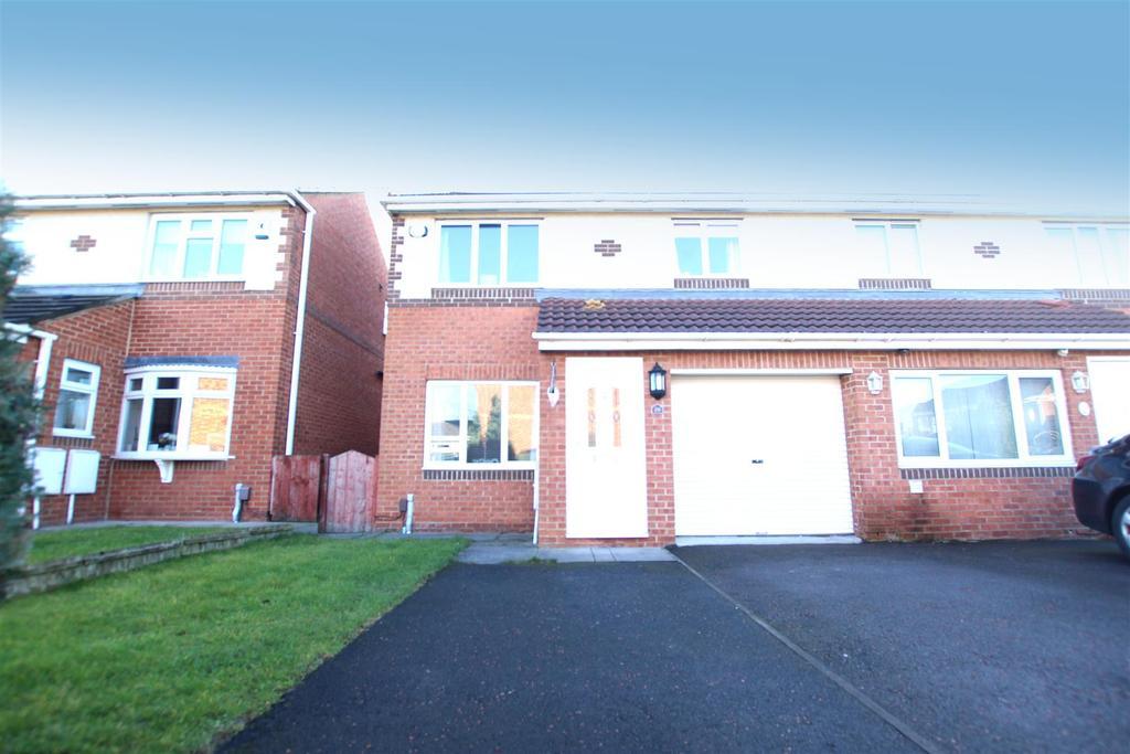 3 Bedrooms Semi Detached House for sale in Elmcroft, Darlington