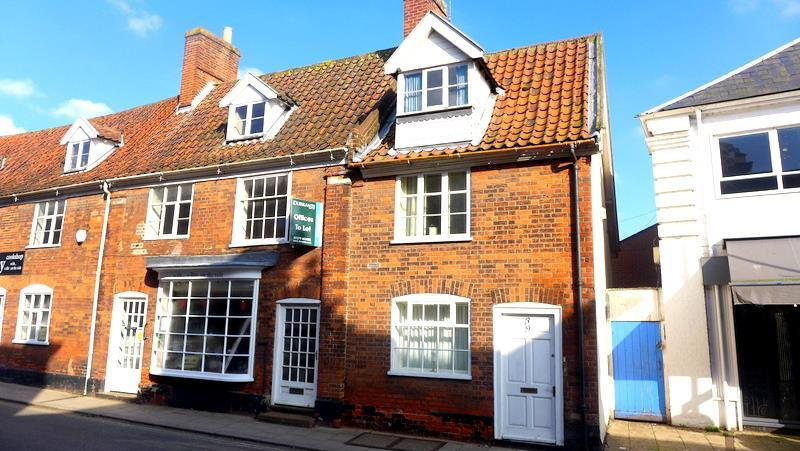 2 Bedrooms End Of Terrace House for sale in Smallgate, Beccles
