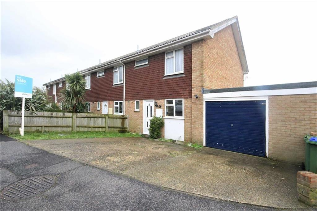 3 Bedrooms End Of Terrace House for sale in St Martins Crescent, South Heighton, Newhaven