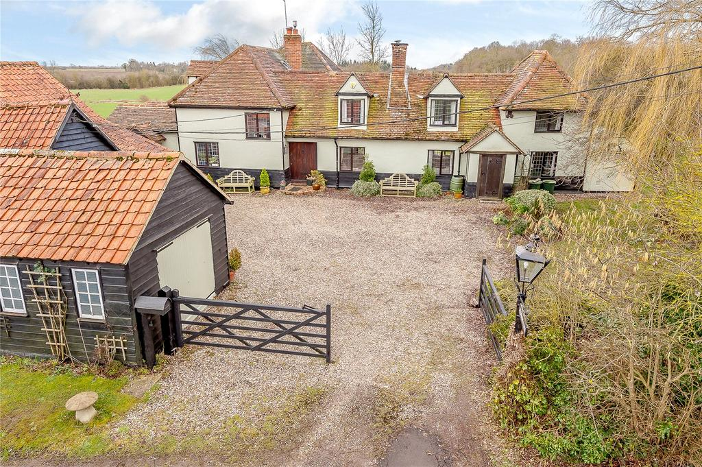 5 Bedrooms Detached House for sale in Pigstye Green, Willingale, Ongar, Essex, CM5