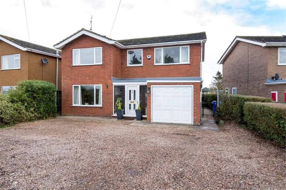 4 Bedrooms Detached House for sale in West End Road, Wyberton, Boston, Lincolnshire