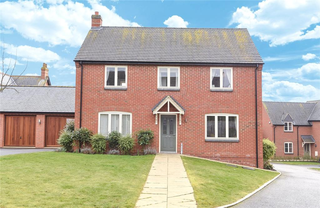 4 Bedrooms Detached House for sale in Old School Close, Great Billing Village, Northampton, NN3