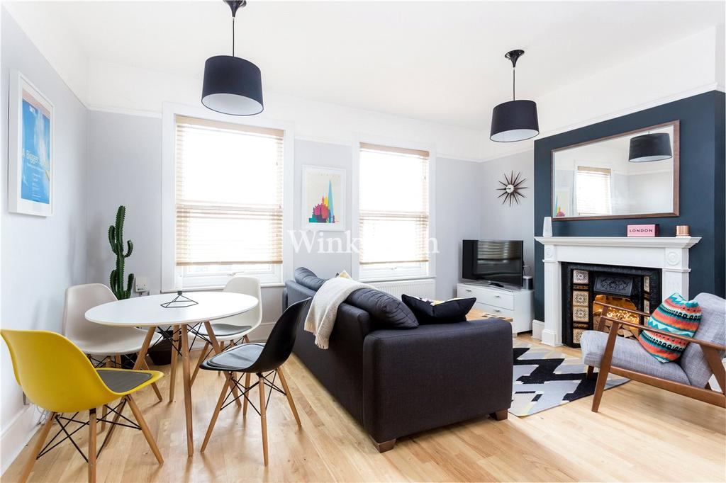 3 Bedrooms Flat for sale in Tynemouth Road, Seven Sisters, London, N15