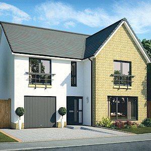 4 Bedrooms Detached House for sale in Plot 49, Juniper Garden Room, Dovecot Grange, Haddington, East Lothian