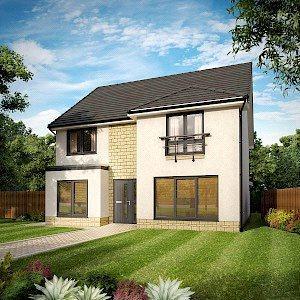 4 Bedrooms Detached House for sale in Plot 52, Cedar, Dovecot Grange, Haddington, East Lothian