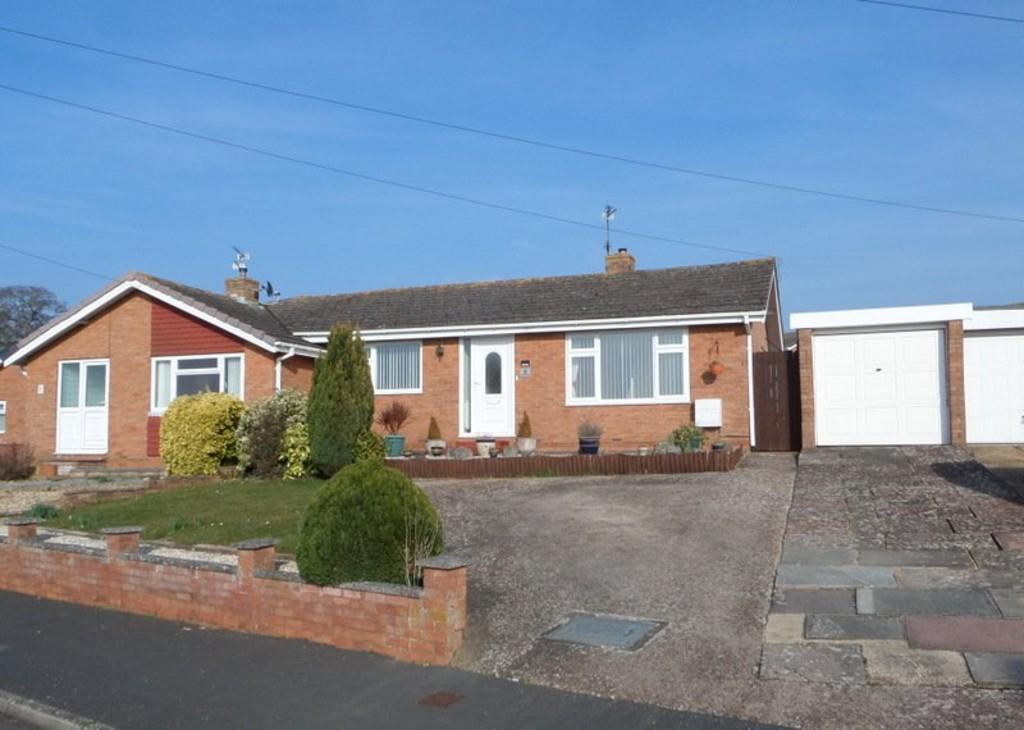 2 Bedrooms Semi Detached Bungalow for sale in Anson Road, Exmouth