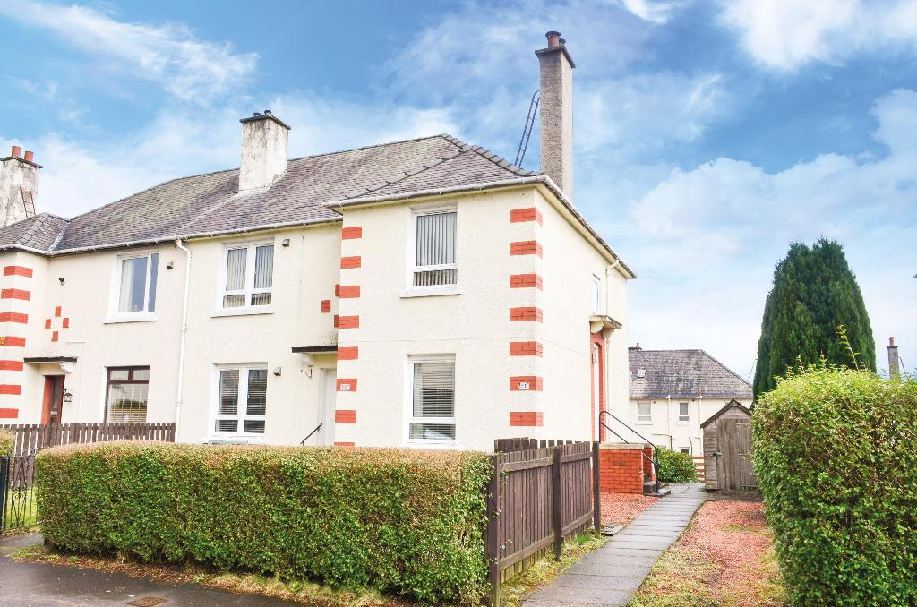 2 Bedrooms Semi Detached House for sale in Friarscourt Avenue, Knightswood, Glasgow, G13 2LE