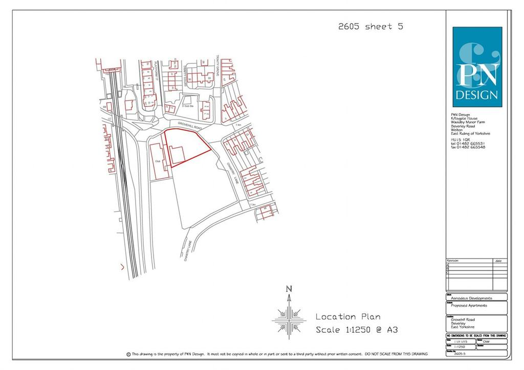 Plot Commercial for sale in Grovehill Road, Beverley, HU17