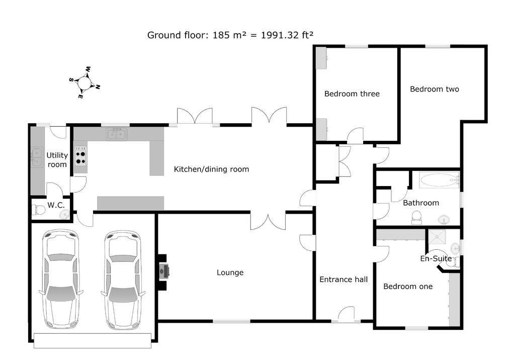 barnard, 6, hawkstone court, shrewsbury, sy4 3 bed bungalow for sale