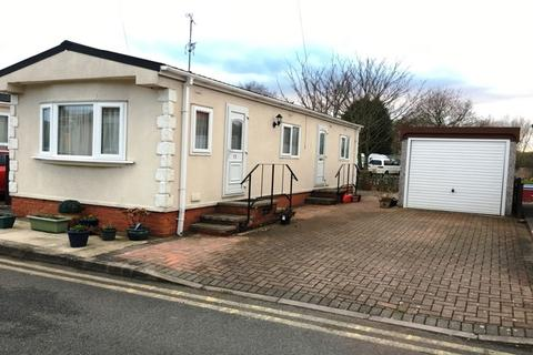 2 bedroom mobile home for sale - Caravan Park, Unicorn Street, Thrumaston, Leicester, LE4
