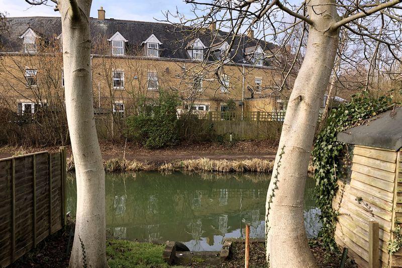 Canal from garden
