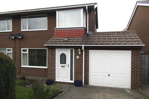 3 bedroom semi-detached house for sale - Larbre Crescent, Fellside Park, Whickham, Newcastle upon Tyne, NE16 5YF