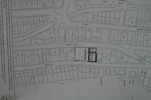 Land for sale - High Street, Ogmore Vale, Bridgend. CF32 7AD