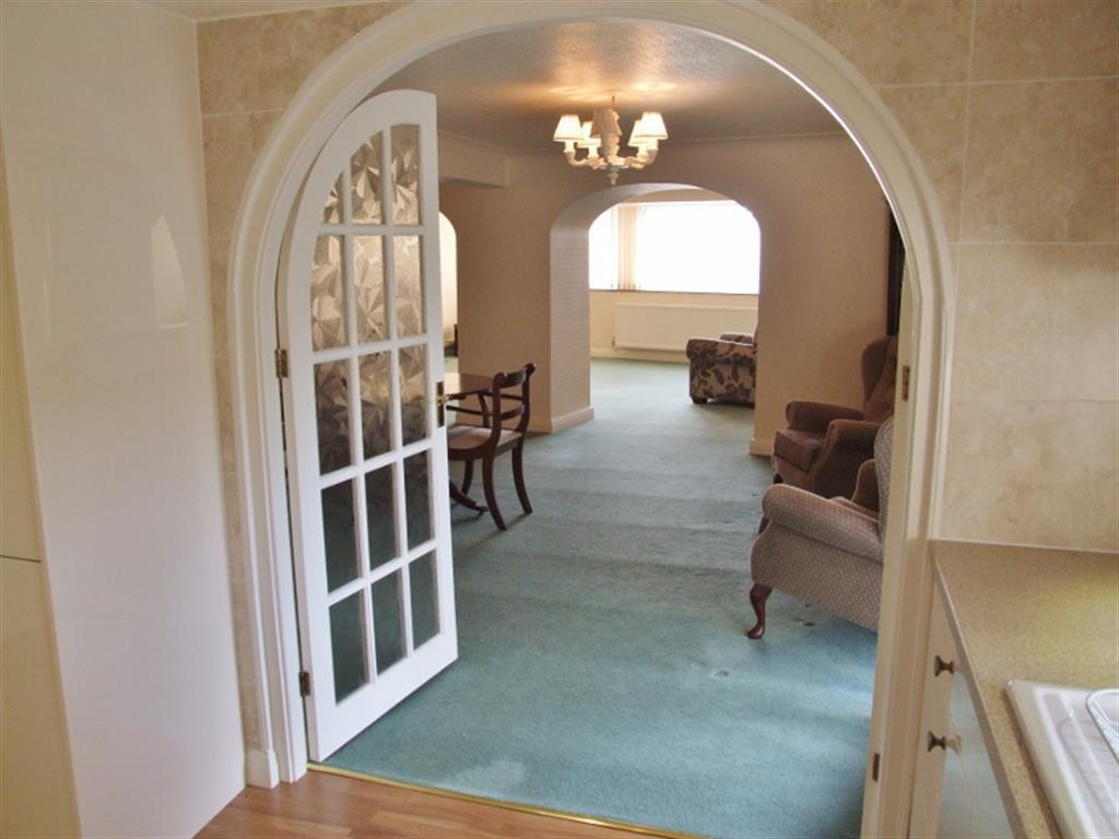 Through to dining room